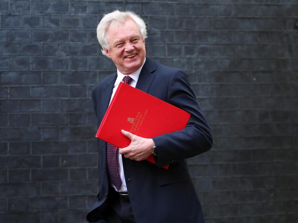 El ya exministro del 'brexit', David Davis