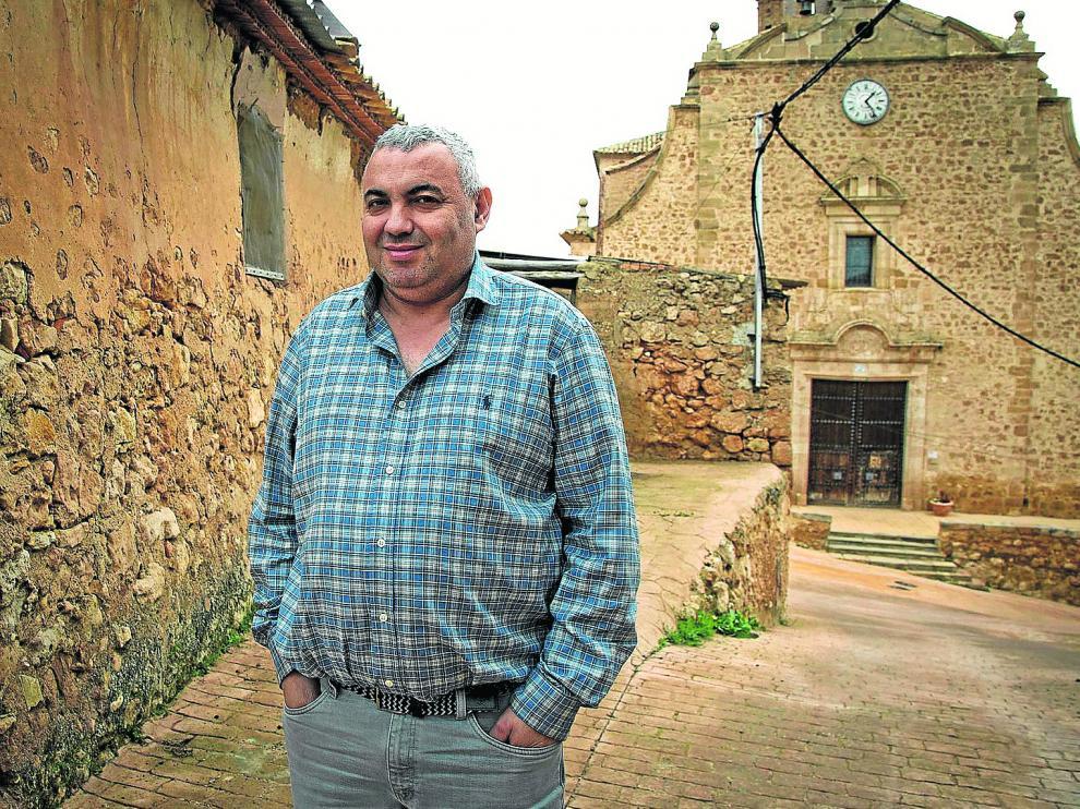 Pascual García, alcalde de Torrehermosa.
