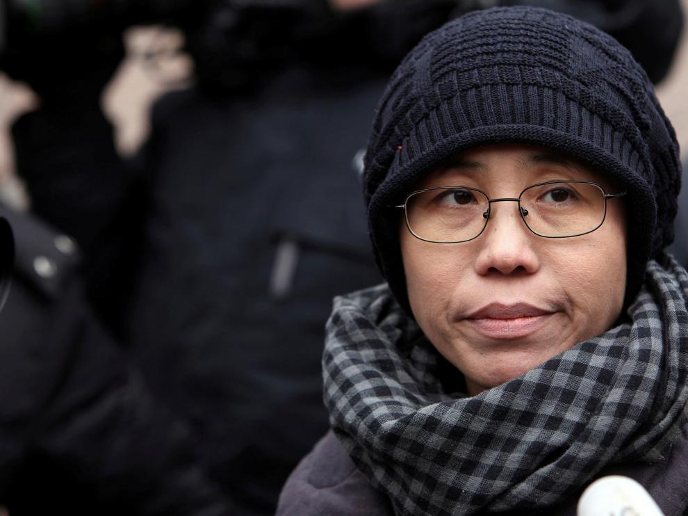 La escritora Liu Xia en una foto de archivo de 2010