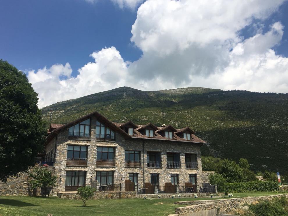 El hotel Palazio, un negocio familiar, abrió en 2001 en Nerín (valle de Vio).