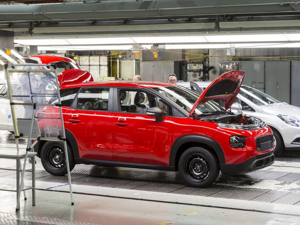 La planta de Figueruelas fabrica modelos de Opel y Citroën a la vez.
