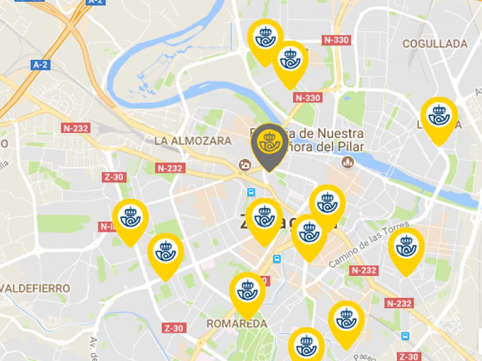Oficinas de Correos en Zaragoza: dirección, horarios, servicios ...
