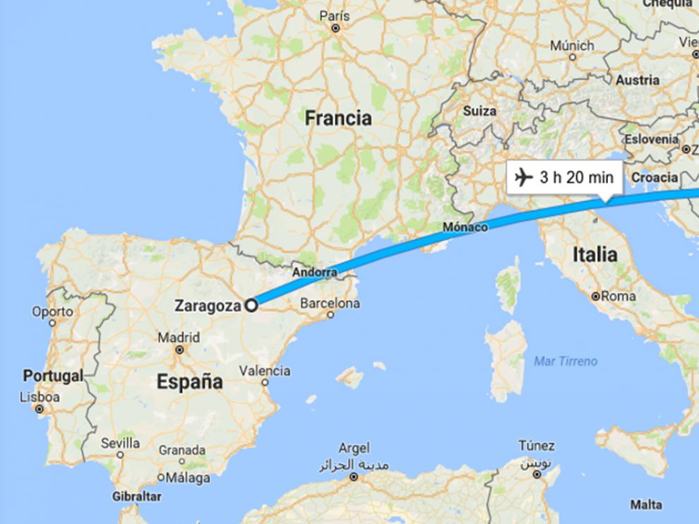 trayecto-zaragoza-bruselas
