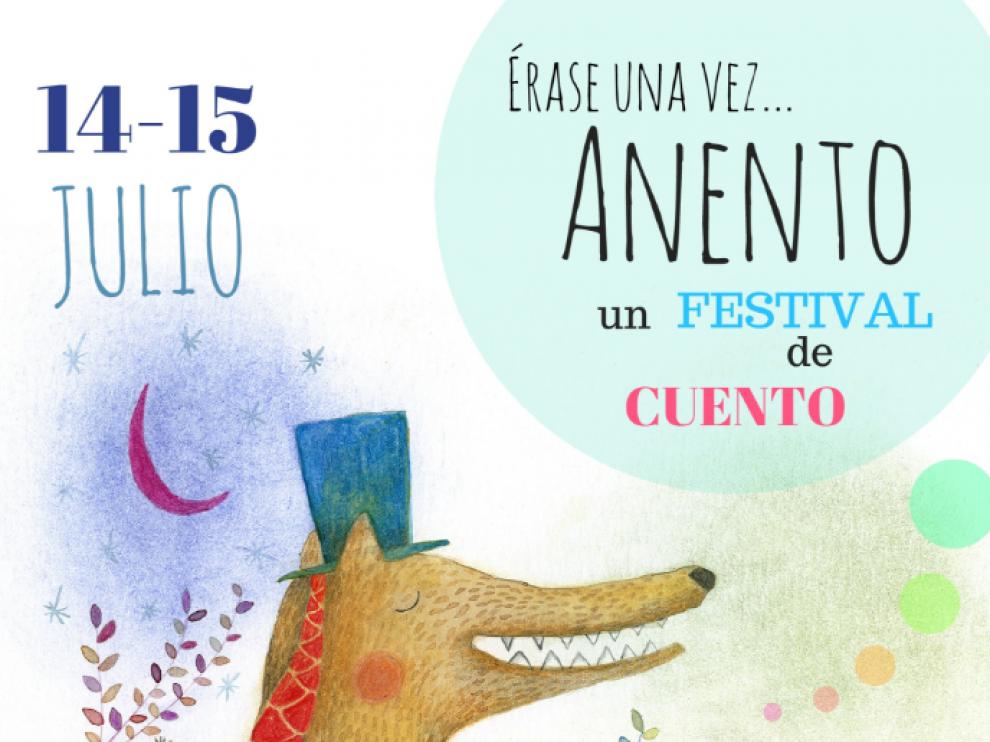 Cartel que anuncia el festival 'Érase una vez'.