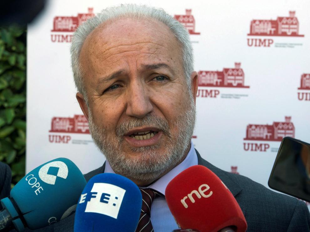 El secretario de Estado español de Justicia, Manuel Dolz.
