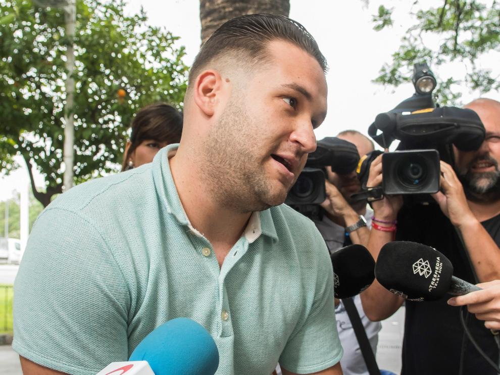 José Ángel Prenda, uno de los miembros de 'La Manada' condenado por abusar sexualmente de una mujer.