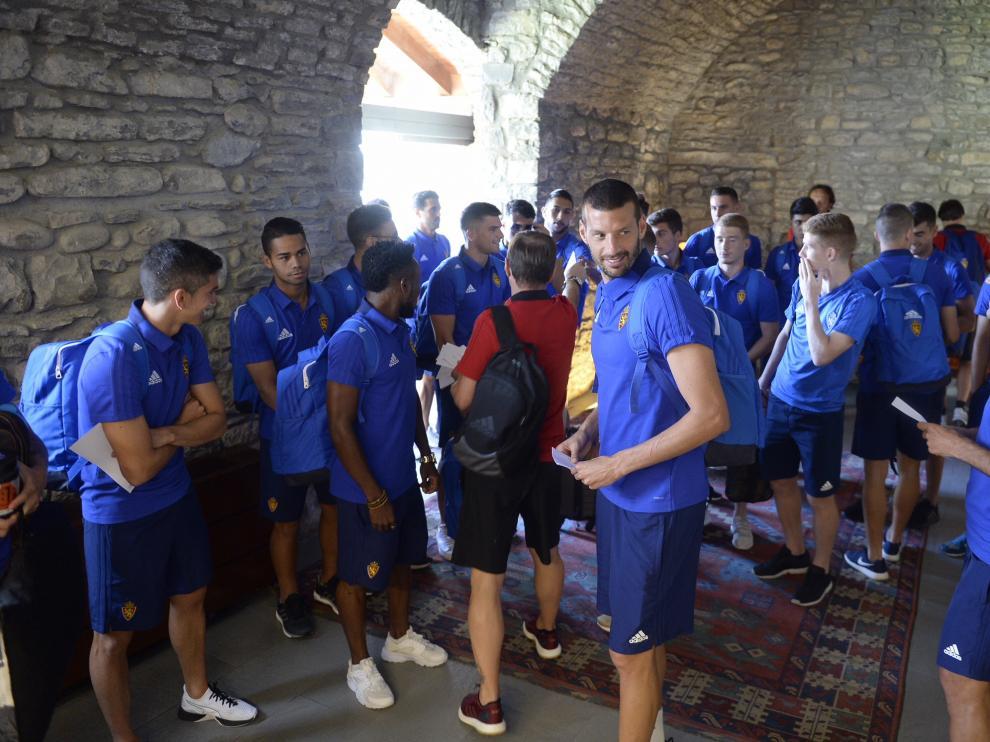 El Real Zaragoza llega a Boltaña