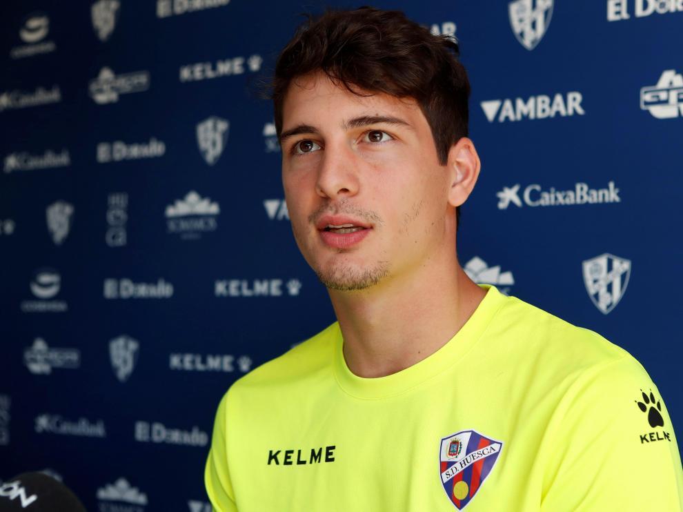 Axel Werner, nuevo portero de la SD Huesca.