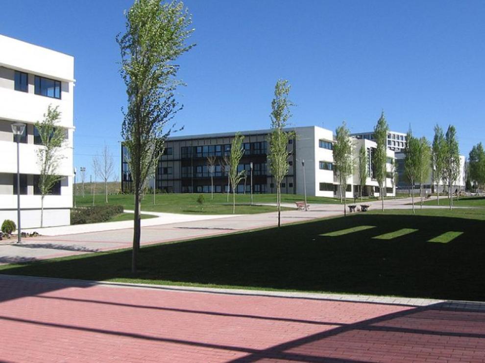 Edificios del campus de Móstoles de la URJC.