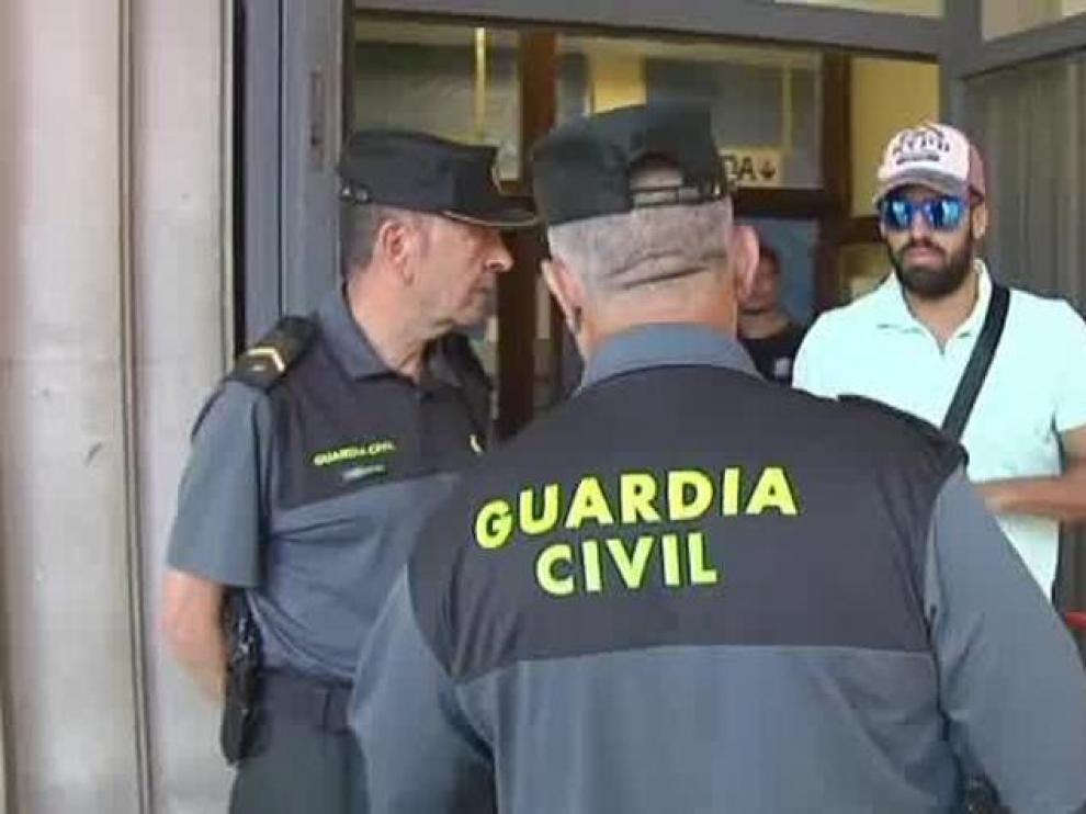 La Audiencia de Navarra mantiene la libertad para 'La Manada'.