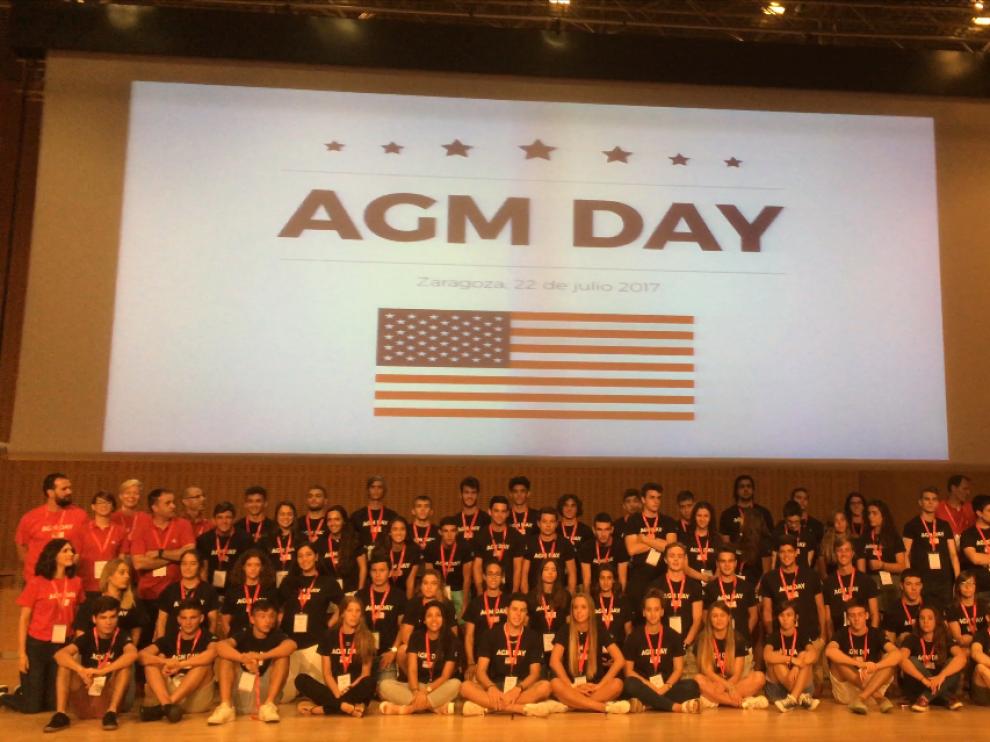 Celebración del AGM Day del año pasado.