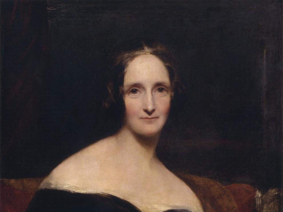 Mary W. Shelley, la joven esposa de Percy B. Shelleyt, autora de 'Frankenstein'.