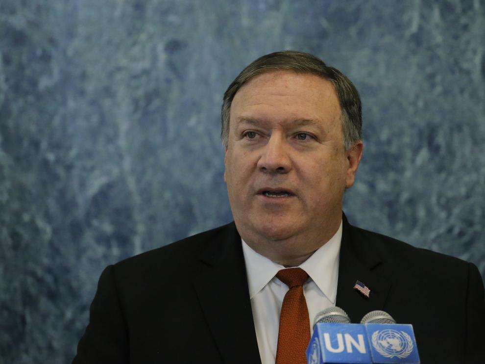 Mike Pompeo, secretario de Estado estadounidense.