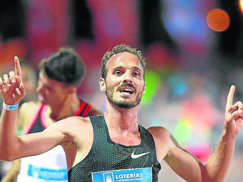 El atleta Toni Abadía, en una imagen de archivo.