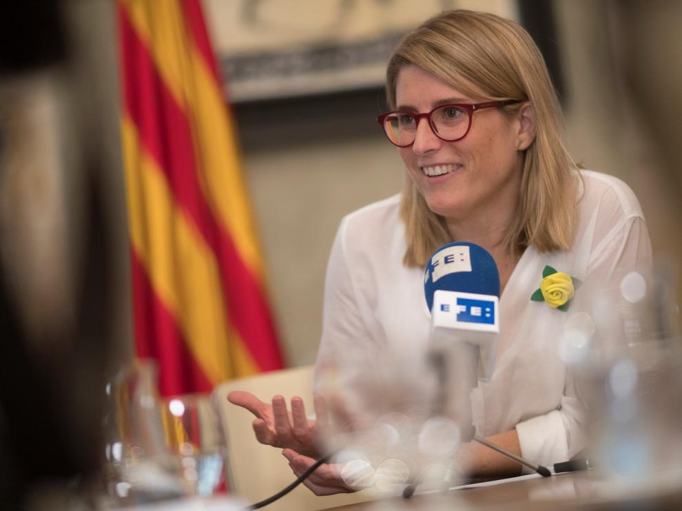 La consellera y portavoz del Govern, Elsa Artadi.