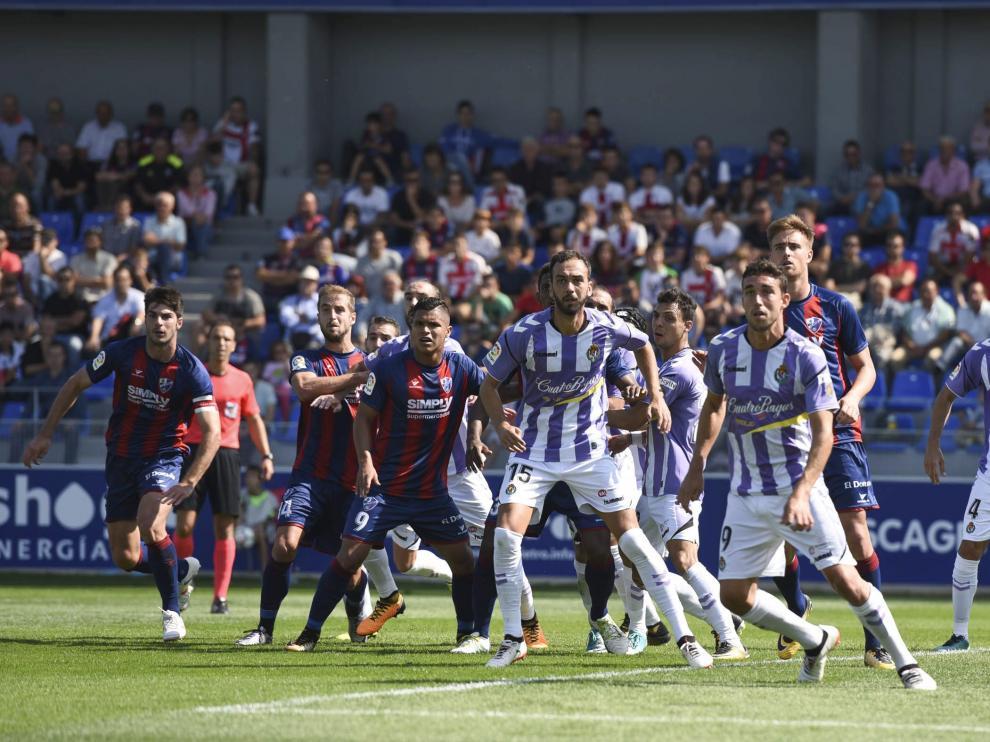 SD Huesca y Real Valladolid se volverán a ver las caras en la máxima categoría.