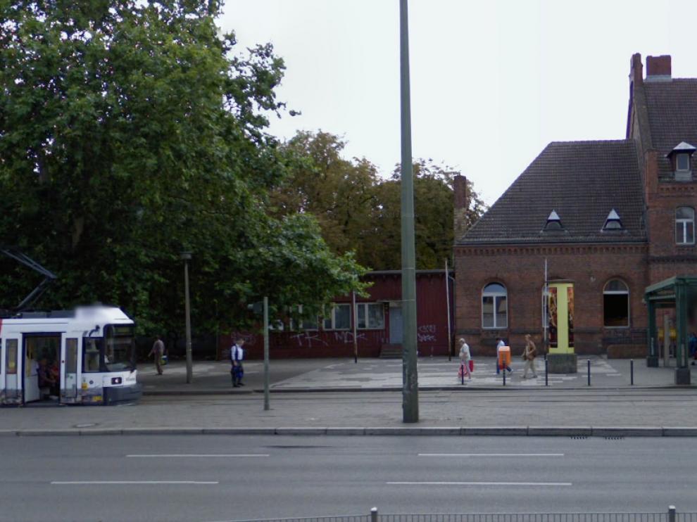 Berlín-Schoeneweide, estación donde ocurrió el ataque