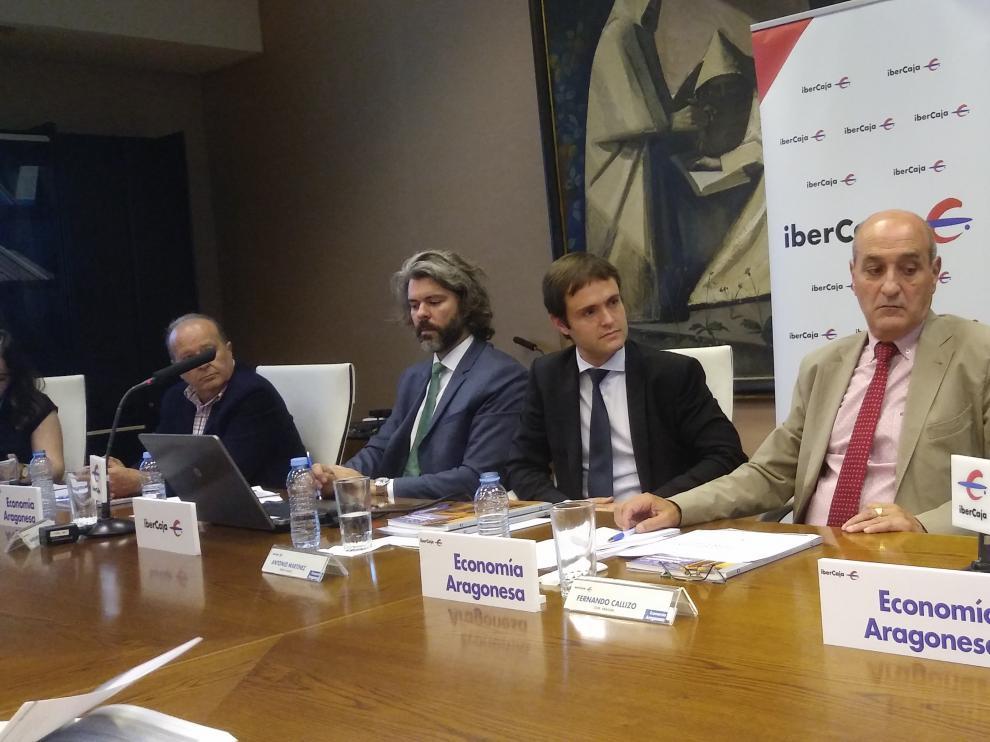 Presentación de la revista Economía Aragonesa