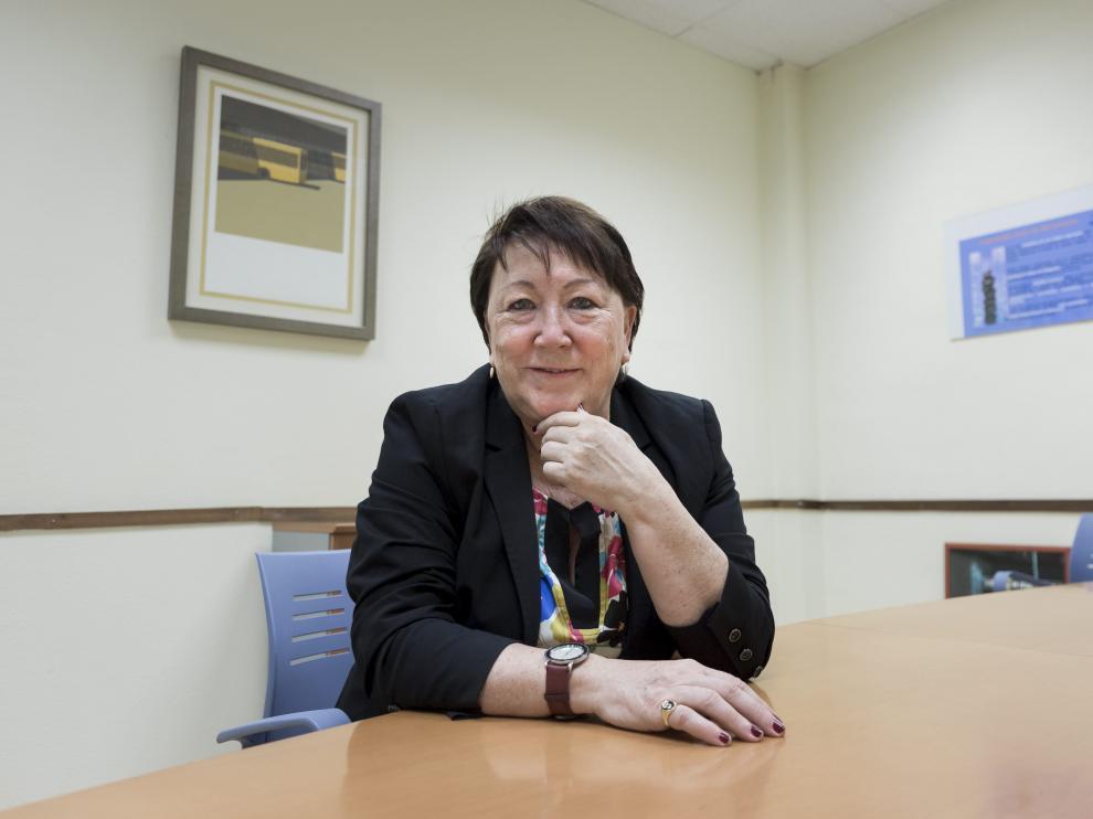 Pilar Aznar, en una de las dos unidades de atención de las adicciones de Proyecto Hombre.