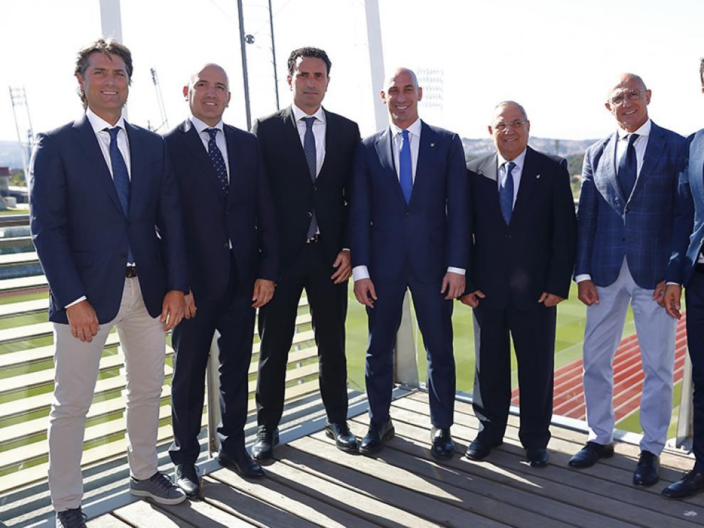 Luis de la Fuente, Santi Denia, David Gordo y Julen Guerrero capitanearán las selecciones inferiores.
