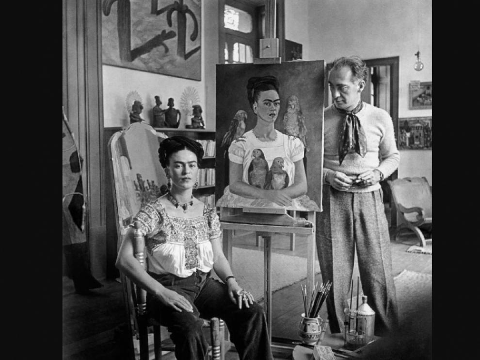 Retrato de Frida Kahlo, en todo su esplendor.