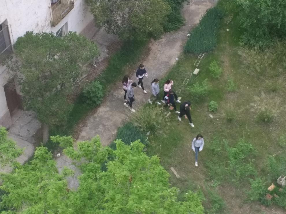 Las incursiones de grupos de jóvenes al recinto son frecuentes.