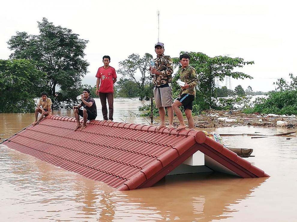 Inundación en Laos