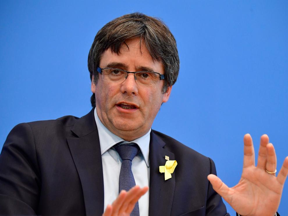 La Crida Nacional por la República fue impulsada por Carles Puigdemont.