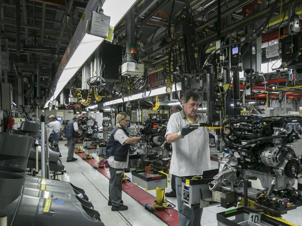 La economía aragonesa continúa creando puestos de trabajo.