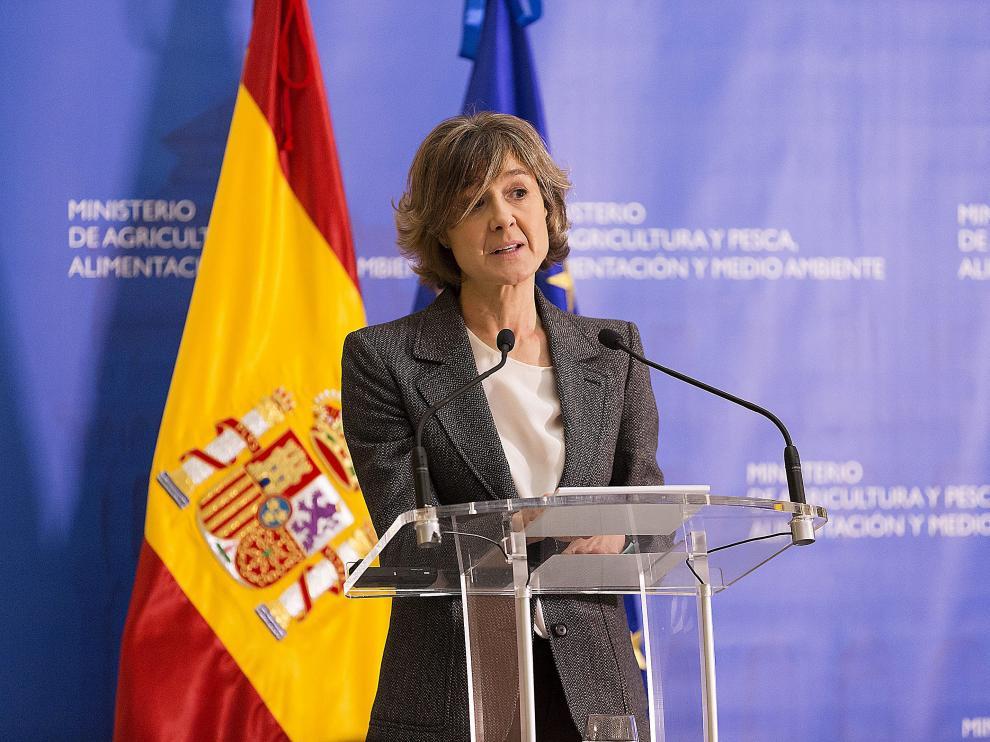 La exministra Isabel García Tejerina se encargará de la vicesecretaría de Sectorial.