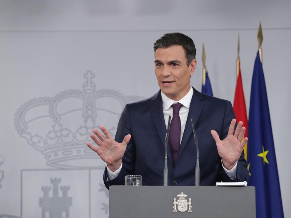 Pedro Sánchez utilizó el avión oficial para desplazarse hasta Castellón, donde asistió al FIB.