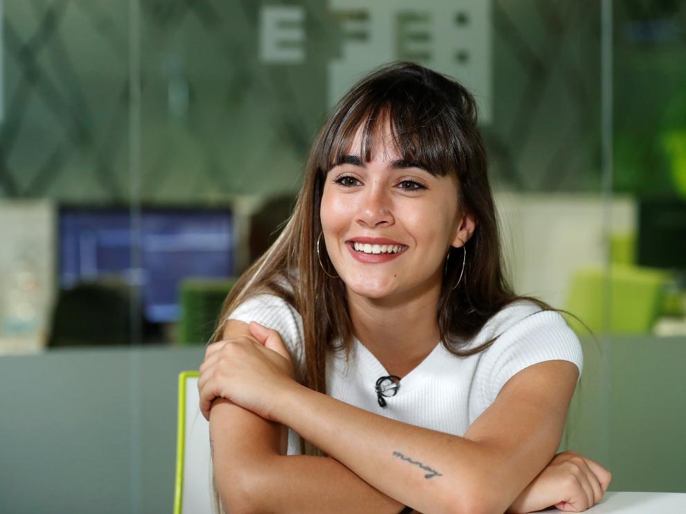 Aitana Ocaña, segunda finalista de 'Operación Triunfo'.