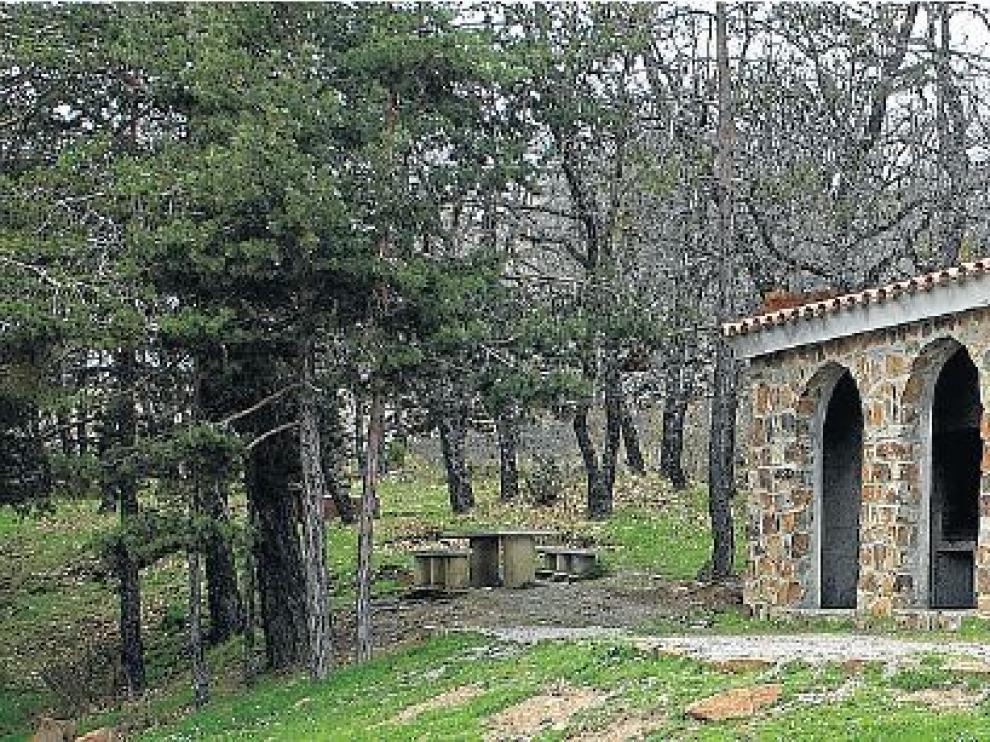 Fuente Amarga, una zona de esparcimiento próxima a Noguera.
