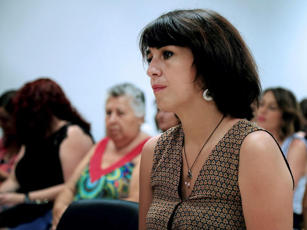 Juana Rivas, en una imagen tomada el pasado 18 de julio.