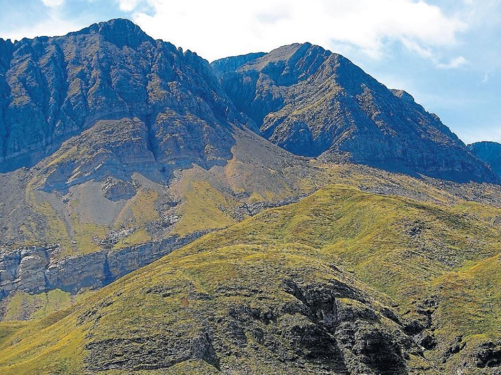 Vista aérea de la peña Sabocos.