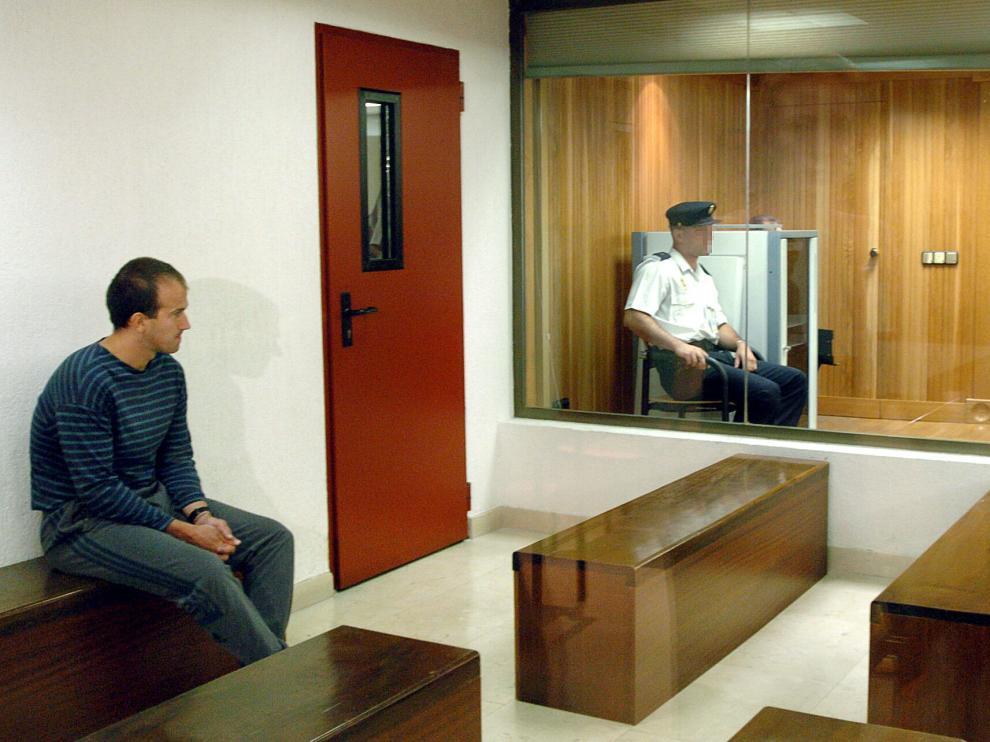 El etarra José Ignacio Guridi Lasa, en el juicio del atentado de los dos guardia civiles en Sallent