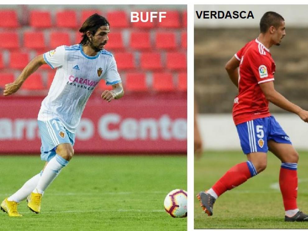 Buff, Verdasca, Torras y Ros, los cuatro jugadores que ha probado en lo que va de verano Idiakez en el puesto de medio centro, donde debe sustituir a Eguaras y no tiene aptos ni a Raúl Guti ni a Zapater.