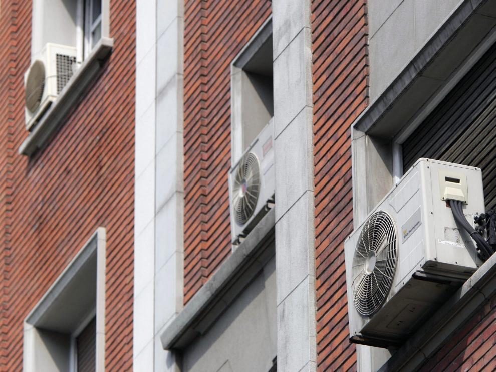 Aparatos de aire acondicionado en Zaragoza.