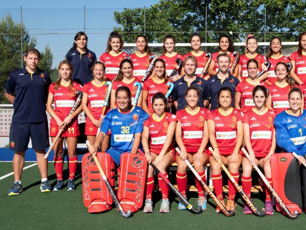 Selección española femenina de Hockey Hierba.