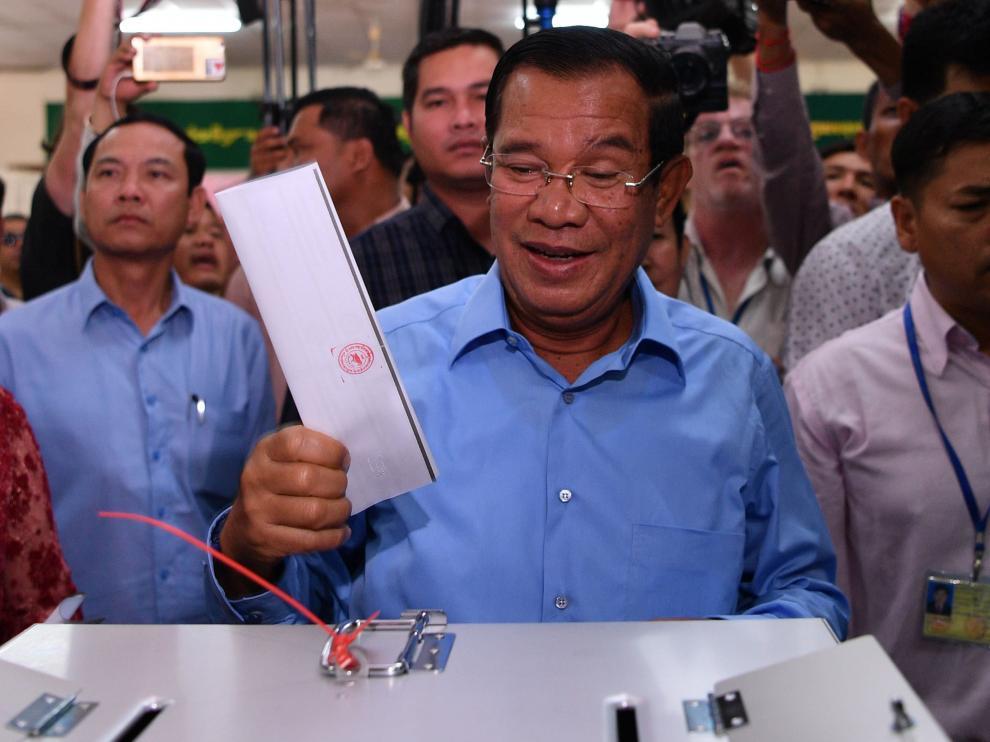 El primer ministro de Camboya, Hun Sen.