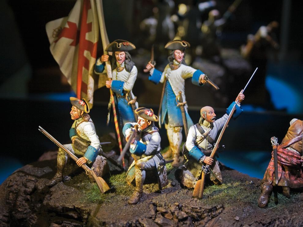 La colección recoge reproducciones de ejércitos españoles y de otros países europeos.