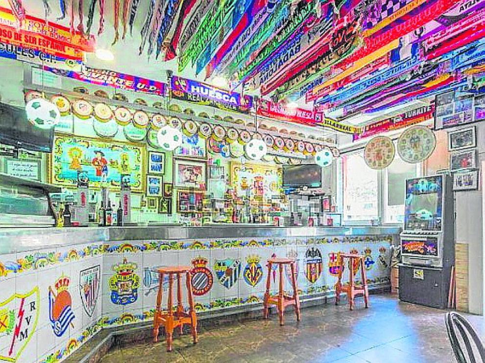 Al bar-museo de Manolo no le falta detalle.