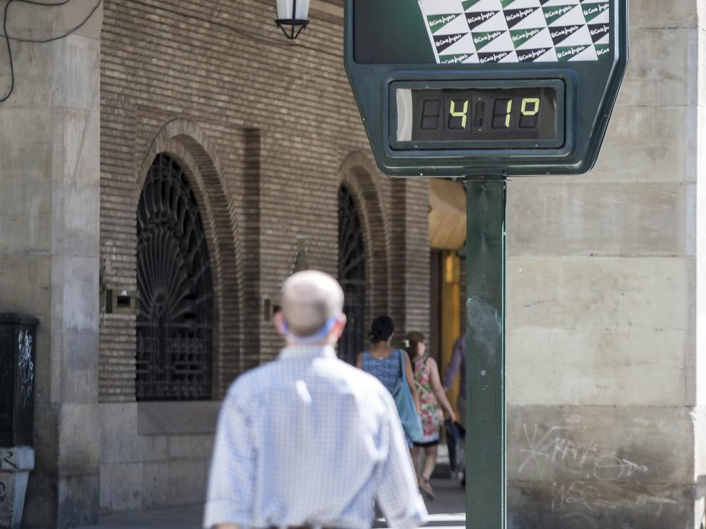 La ola de calor empieza con una treintena de provincias en riesgo por viento y máximas de 42ºC