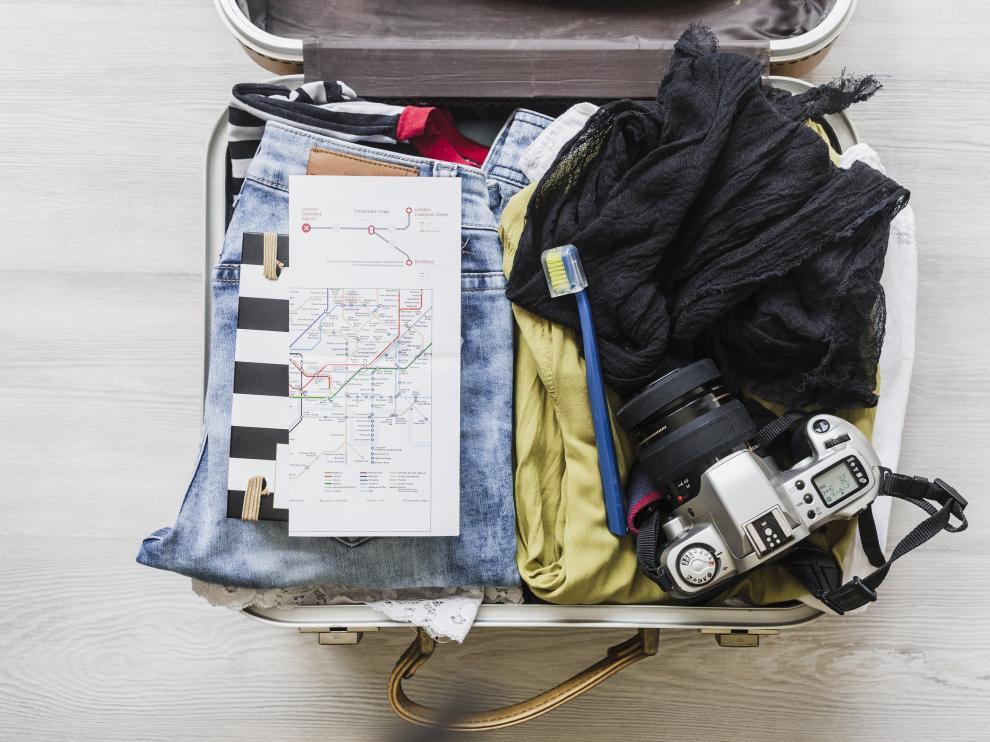 Aunque parezca mentira, una buena maleta augura el éxito de las vacaciones.