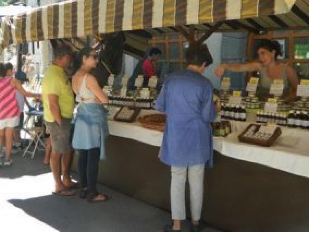 Mercado de la artesanía Villanúa.