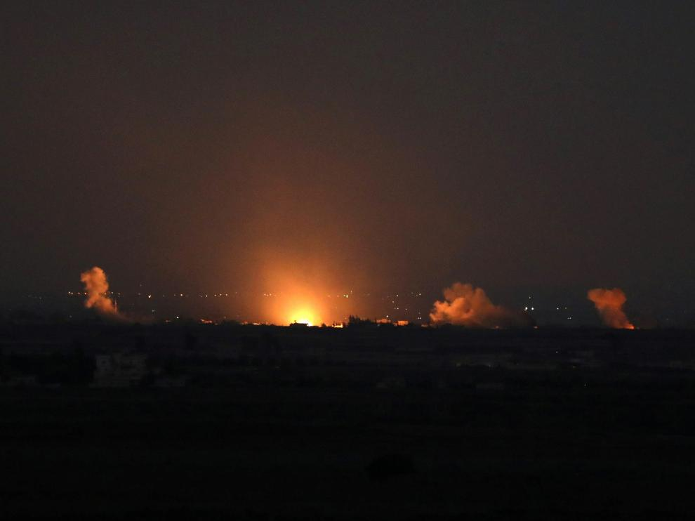 Gaza envía globos de helio o cometas con artefactos atados con combustible para provocar fuegos.