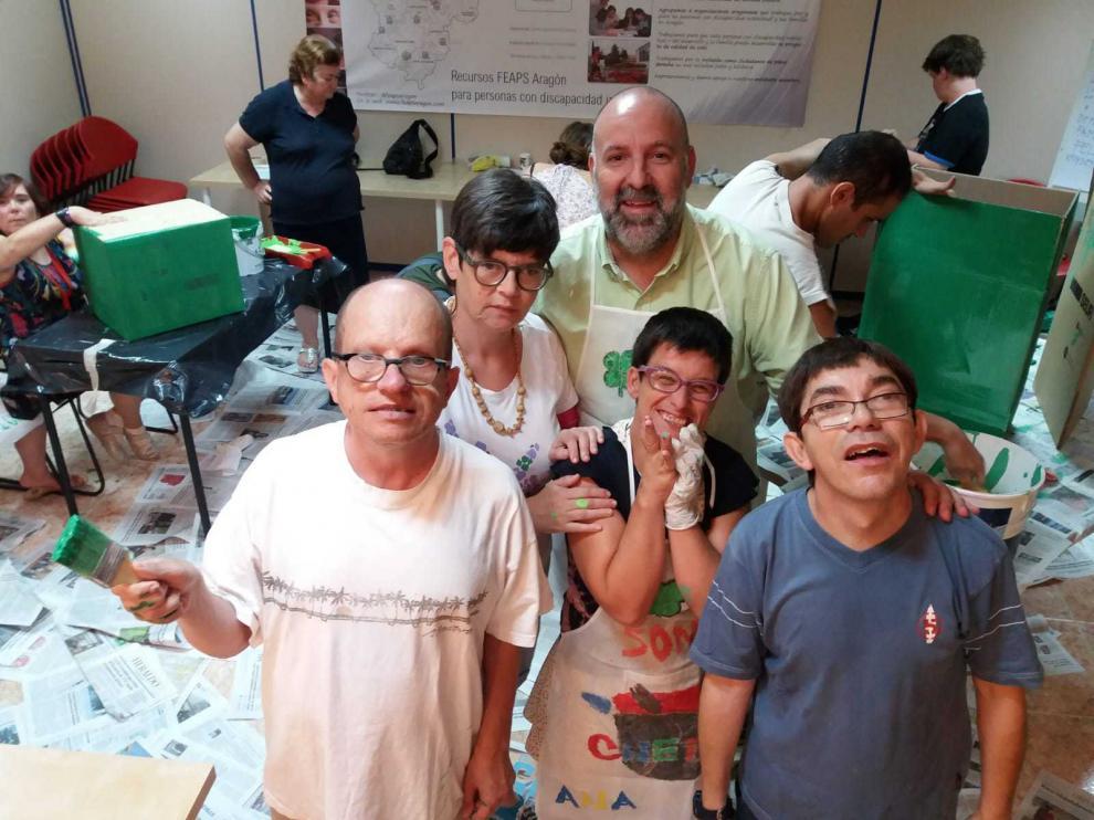 Voluntario de Plena Inclusión Aragón.