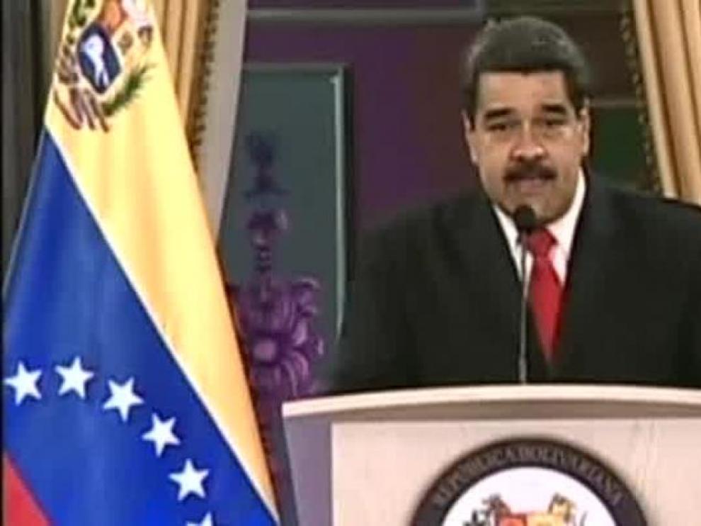 """Nicolás Maduro: """"Juan Manuel Santos está detrás de este atentado"""""""