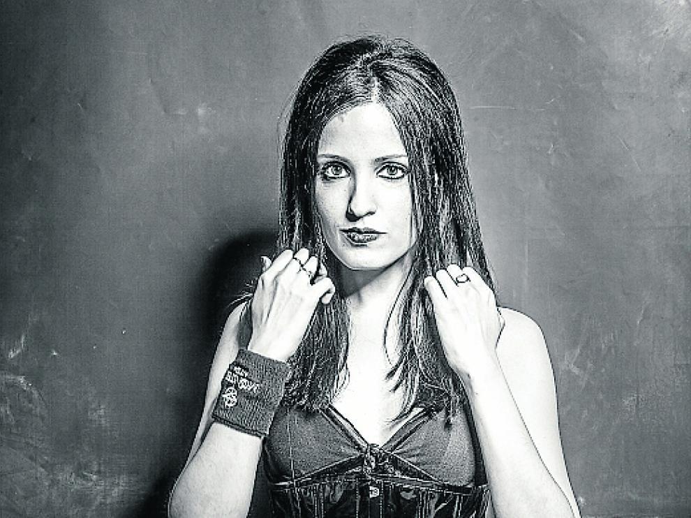 La cantante y actriz Silvia Soláns