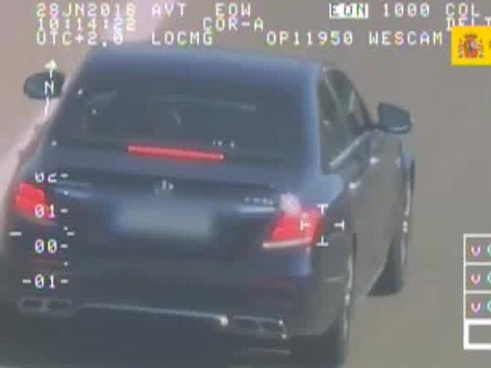 Imagen de archivo de una campaña de la DGT para vigilar la velocidad